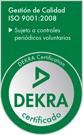 Certificación ISO 9001 - DEKRA